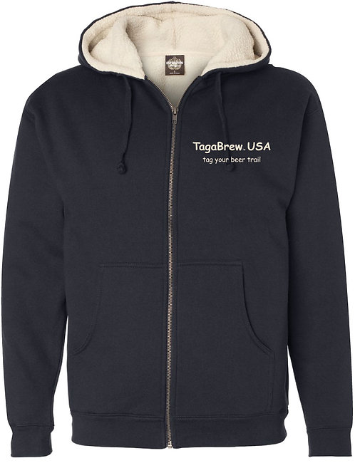 TagaBrew Sherpa-Lined Jacket