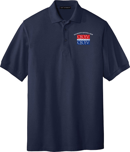Kzoo Quilting Crew Men's Polo