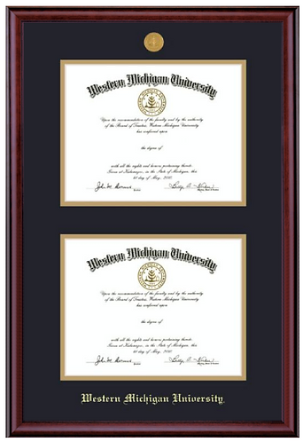 Double Diploma Frame - Classic