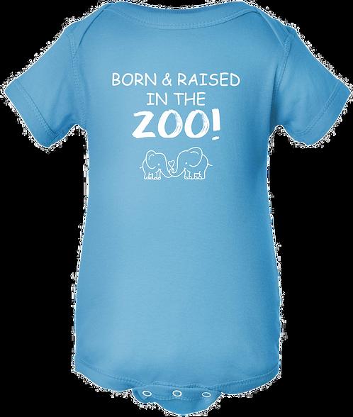 Born & Raised in the Zoo Onesie