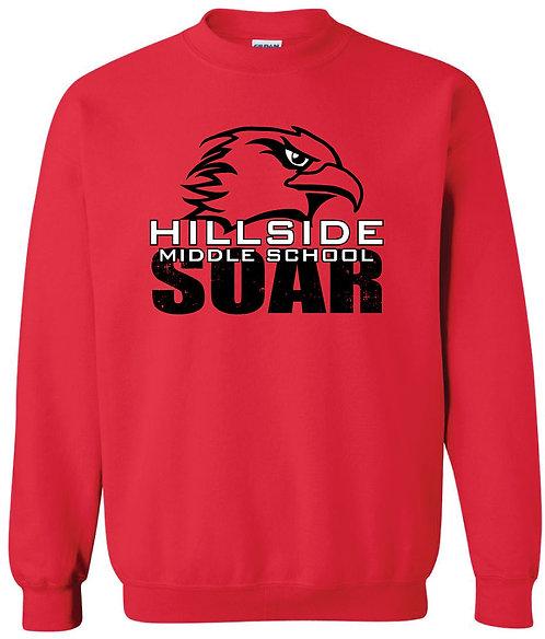 Crewneck Sweatshirt - Hillside Middle School