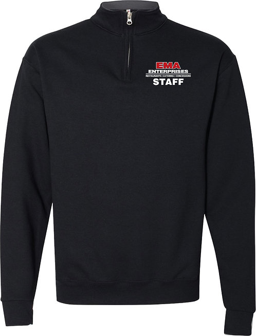 EMA Enterprises 1/4 Zip Ladies' Staff Sweatshirt