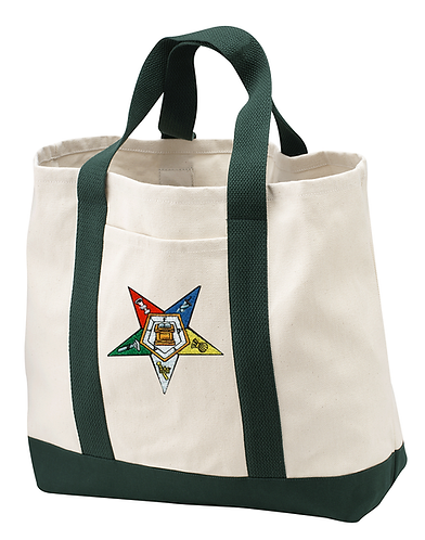 Embroidered Shopping Tote