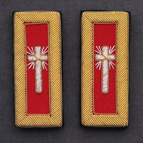 Commander, Generalissimo & Captain General Shoulder Straps