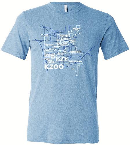 Kalamazoo Neighborhoods Softstyle Tee