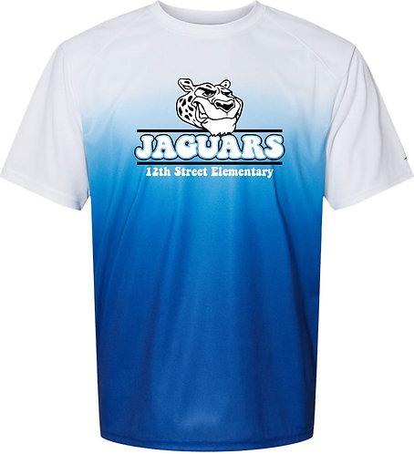 Youth Jaguar Ombre Performance Tee