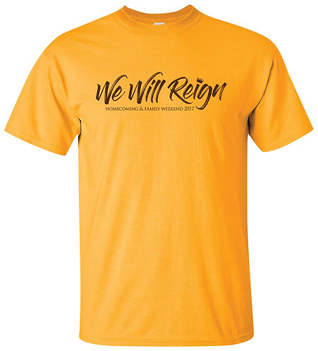 Official WMU Alumni Homecoming 2017 Event Shirt