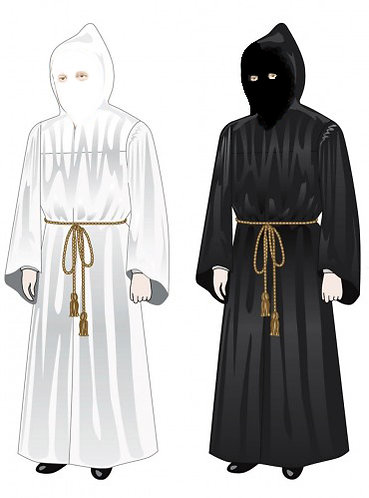 Basic Hooded & Veiled Robe