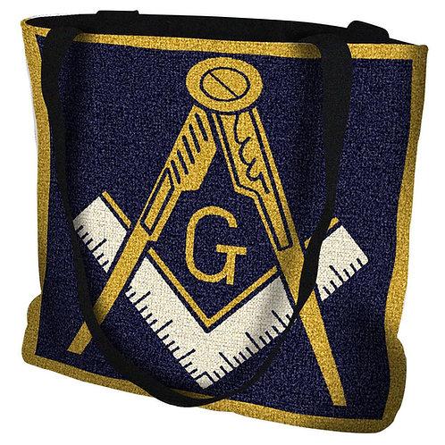 Woven Masonic Tote Bag