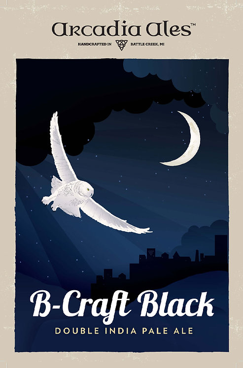 B-Craft Black Poster