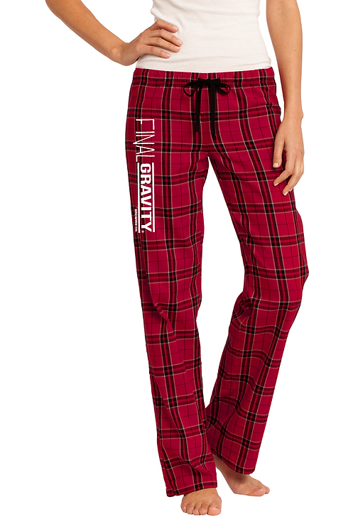 Plaid FG Women's Pants