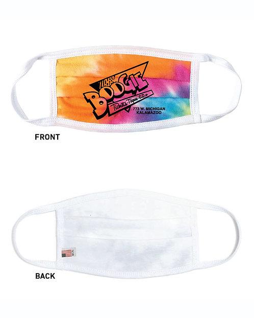 Boogie Records Logo Face Masks