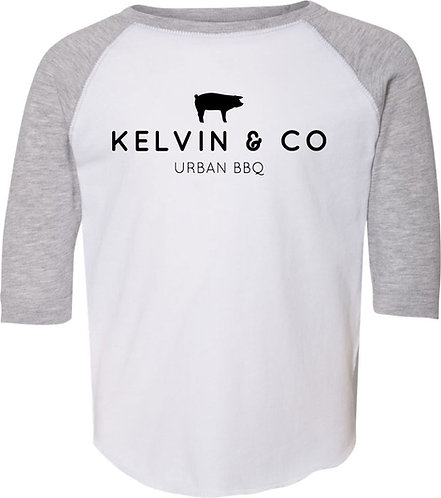Kelvin & Co Toddler Baseball Tee