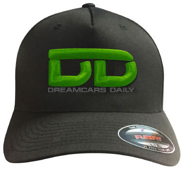 Black Dreamcars Daily Limited Edition Hat