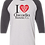 Thumbnail: I Heart  ABC Baseball Tee