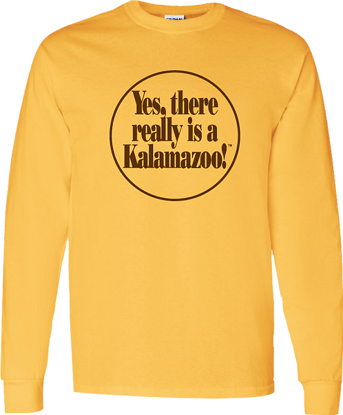 Yes, Kzoo! Long Sleeved Tee