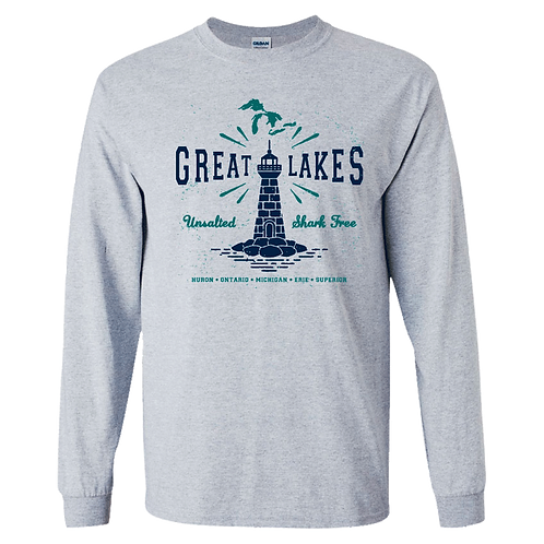 Great Lakes Lighthouse Long Sleeved Tee