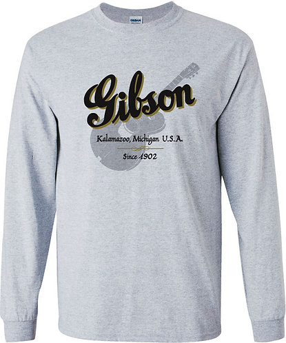 Gibson Guitars Long Sleeved Tee