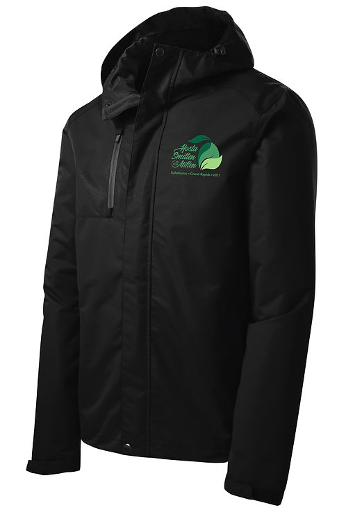 Hosta Smitten Embroidered All-Conditions Jacket