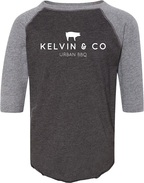 Kelvin & Co Baseball Tee