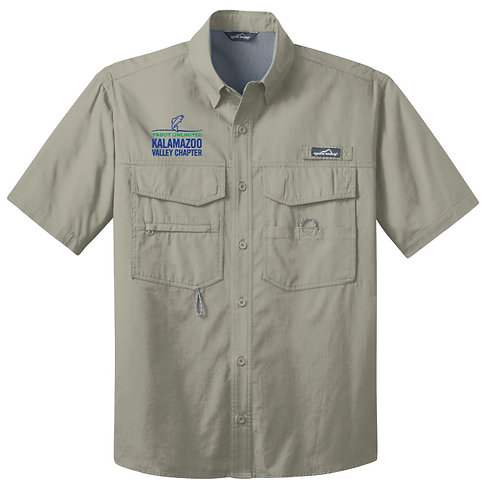 Trout Ultd Short Sleeve Fishing Shirt