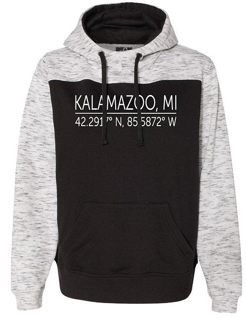 Kalamazoo Latitude & Longitude Hoodie
