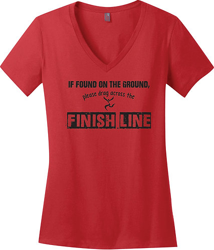LAUGH Finish Line Tee