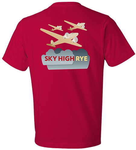 Sky High Rye Tee