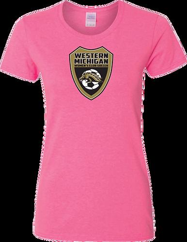 Wm Club Soccer Short-Sleeved Ladies' Shield Tee