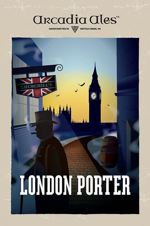 London Porter Poster