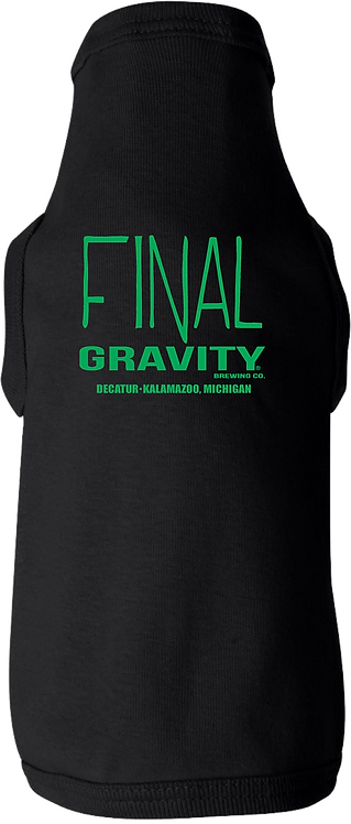 Final Gravity Dog Shirt