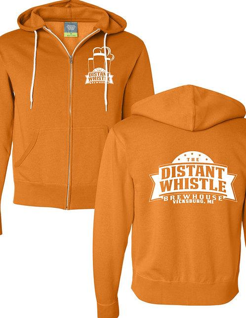 Full-Zip Hoodie - Distant Whistle