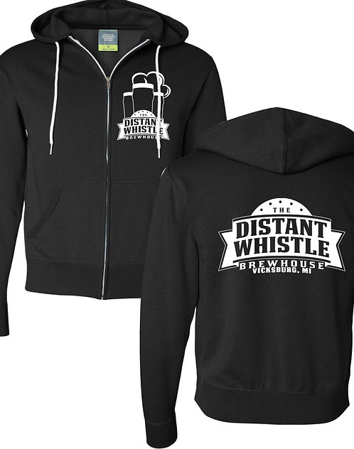 Full-Zip Hoodie - Distant Whistle