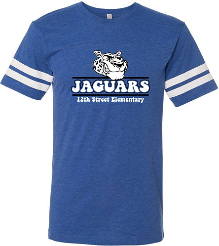Adult Jaguar Football Stripe Jersey Tee