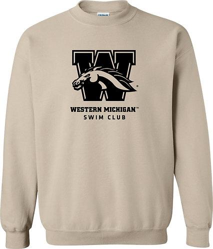WMU Swim Club Crewneck Sweatshirt