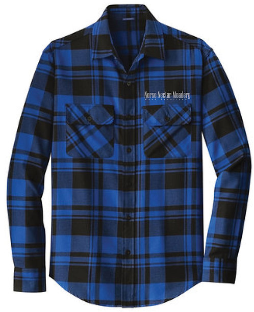 Norse Nectar Plaid Flannel
