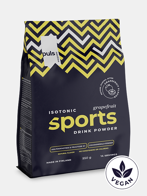 SPORTS DRINK Grapefruit 550 g