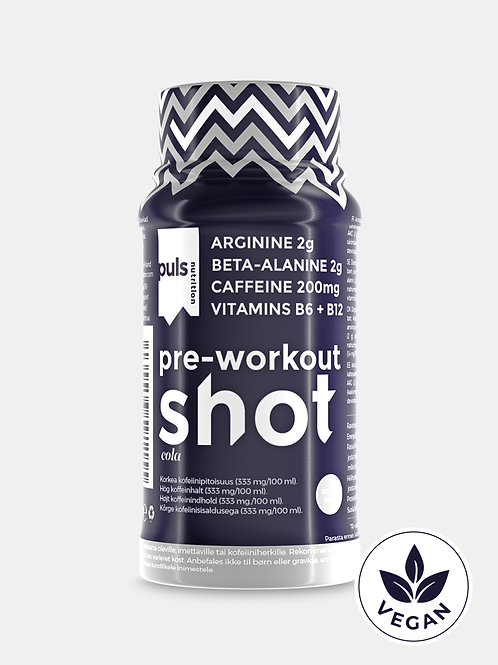 SHOT pre-workout Cola 60 ml