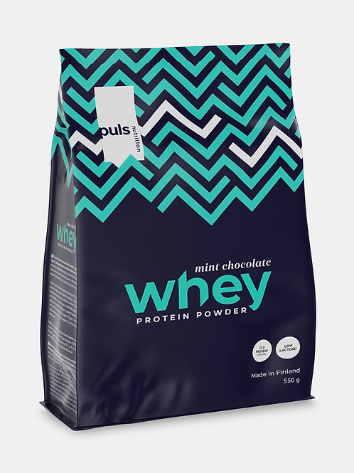 WHEY Mint chocolate 550 g