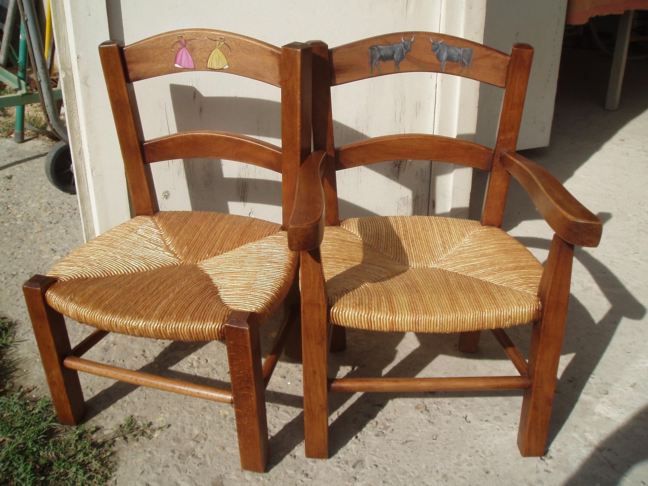 petites chaises enfant