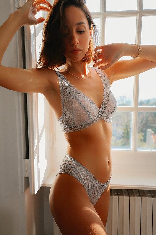 Ensemble de lingerie Louisa gris