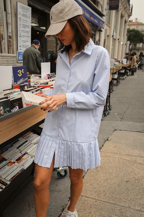 Robe chemise Madeleine rayée