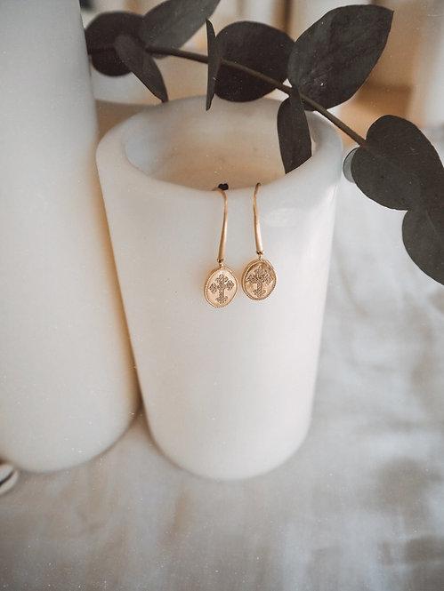 Aramis zirconium earrings