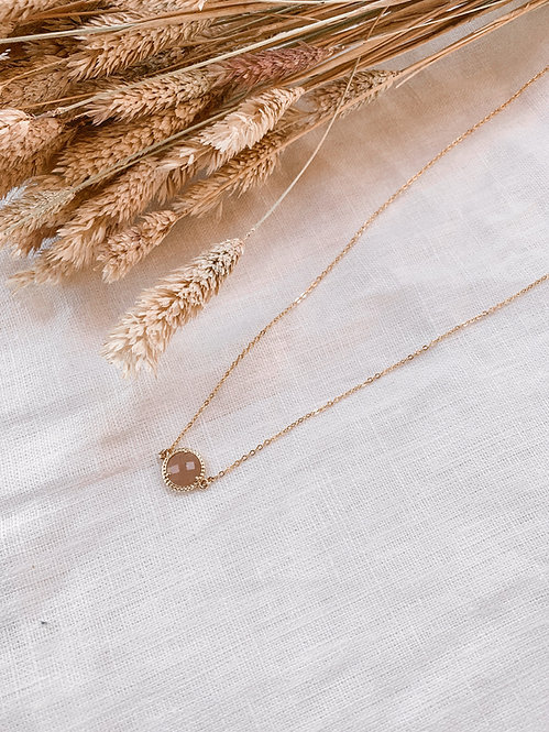 Marcelle Pearl of the Sun Necklace