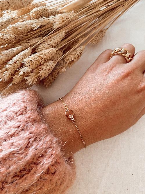 Bracelet Miette perle rose