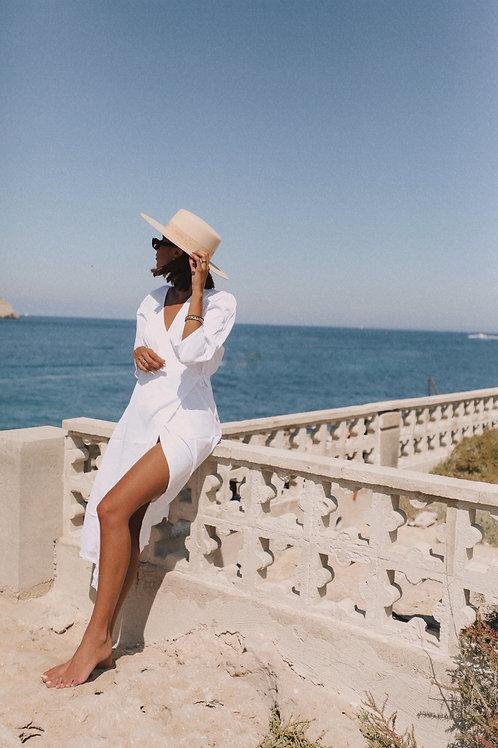 Robe Charlène blanche