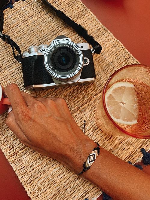 Bracelet Zonza noir et doré