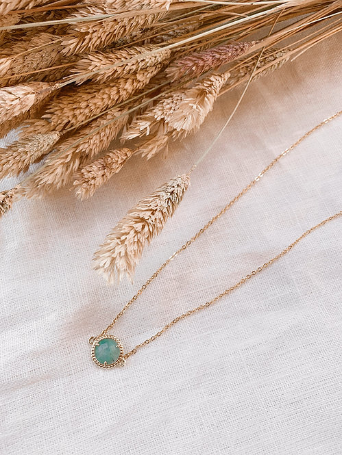 Collier Marcelle Amazonite