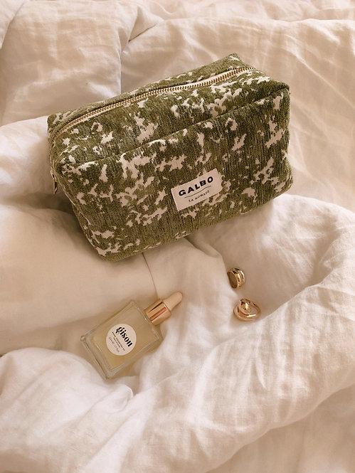 Trousse de voyage LA NOMADE  lichen vert
