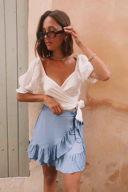 Jupe Lavandou bleue